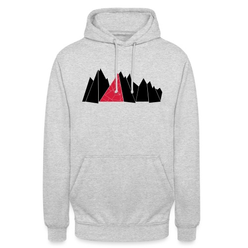 T-Shirt Mountains - Unisex Hoodie