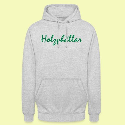 Schriftzug Grün - Unisex Hoodie