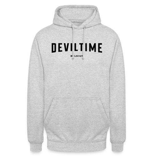 deviltime Belgium België Belgique - Sweat-shirt à capuche unisexe