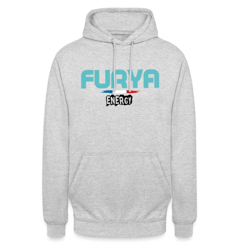 Furya 2021 Black - Sweat-shirt à capuche unisexe