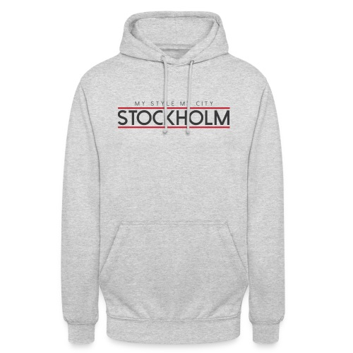 MY STYLE MY CITY STOCKHOLM - Unisex Hoodie