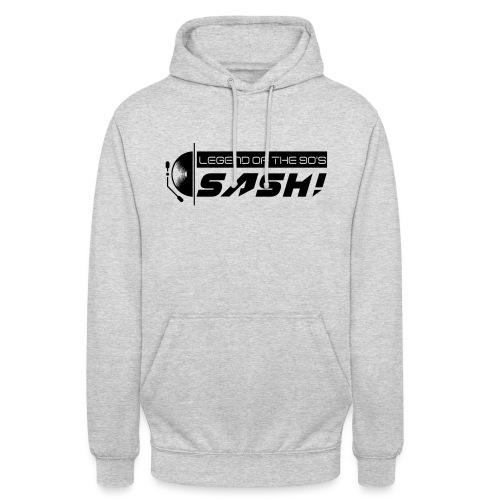 DJ SASH! Turntable 2020 Logo - Unisex Hoodie