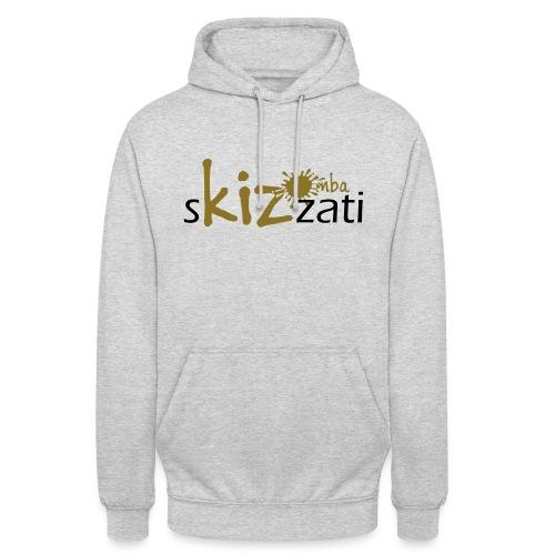 Beanie in jersey con logo sKizzati Kizomba - Verde - Felpa con cappuccio unisex