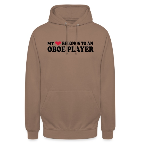 MY HEART BELONGS TO AN OBOE PLAYER - Unisex Hoodie