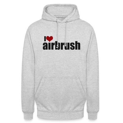I Love airbrush - Unisex Hoodie