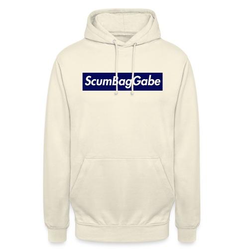 ScumBagGabe Blue XL Logo - Unisex Hoodie