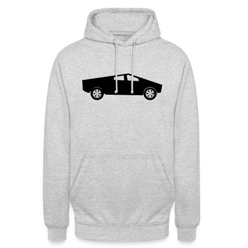 cybertruck tesla - Sweat-shirt à capuche unisexe