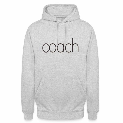 coach text - Unisex Hoodie