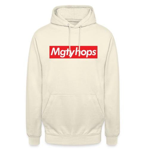 Mgtyhops Red bar - Luvtröja unisex