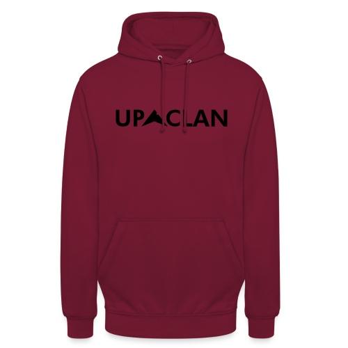 UP-CLAN Text - Hoodie unisex