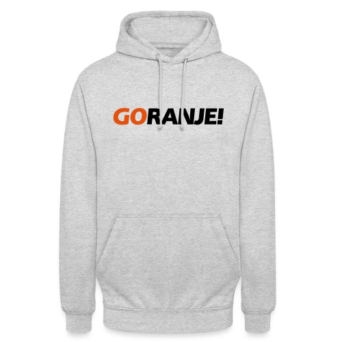 Go Ranje - Goranje - 2 kleuren - Hoodie unisex