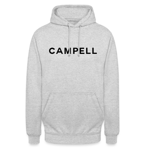 campell schriftzug2 - Unisex Hoodie