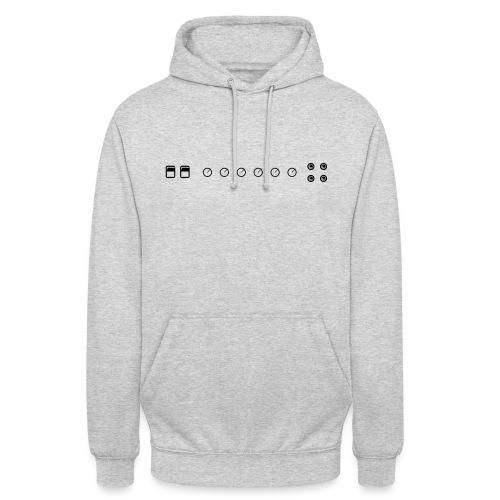 marshall ampli - Sweat-shirt à capuche unisexe