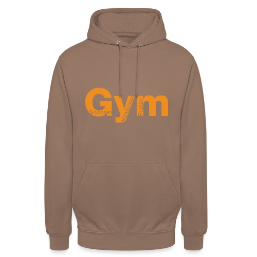 Gym orange - Unisex Hoodie