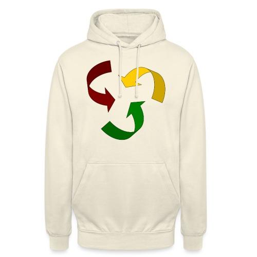 Rastacycle - Sweat-shirt à capuche unisexe