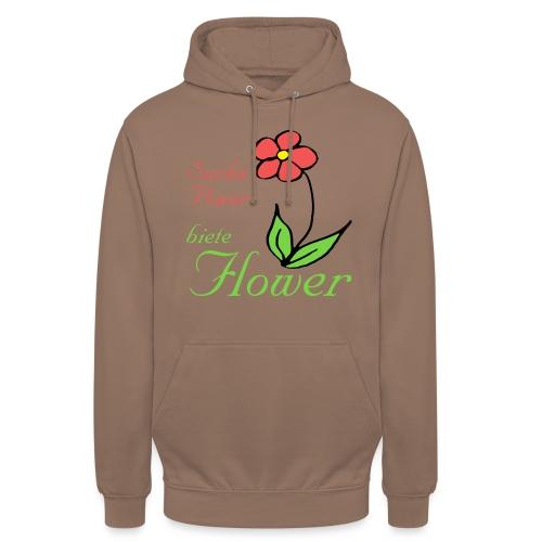 Suche Power biete Flower - Unisex Hoodie