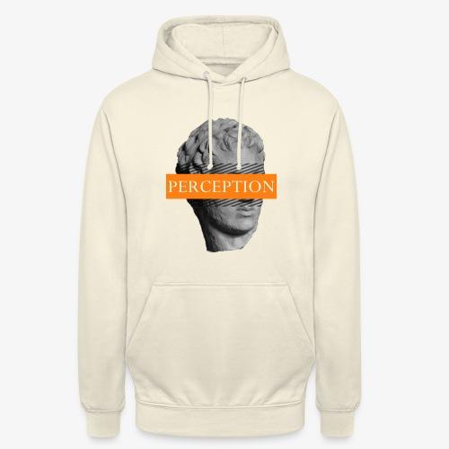 TETE GRECQ ORANGE - PERCEPTION CLOTHING - Sweat-shirt à capuche unisexe