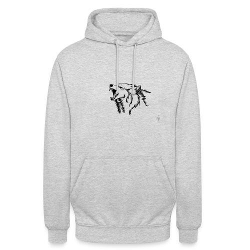 wolf - Luvtröja unisex