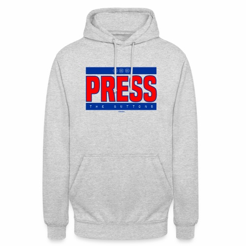 Press the buttons - Hoodie unisex