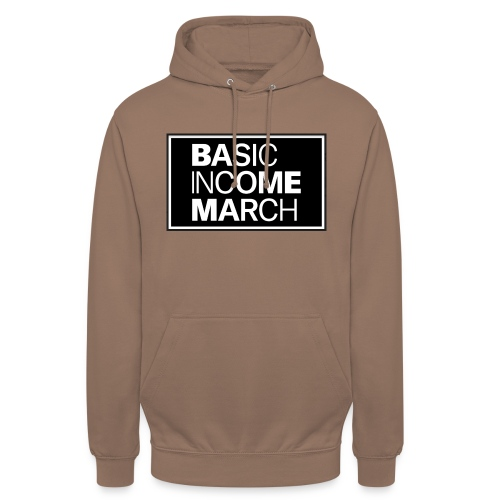 basic income march - Hoodie unisex