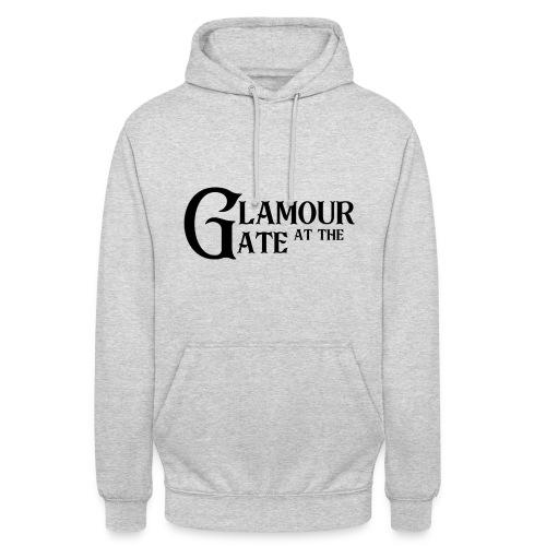 LOGO Glamour at the Gate Noir - Sweat-shirt à capuche unisexe