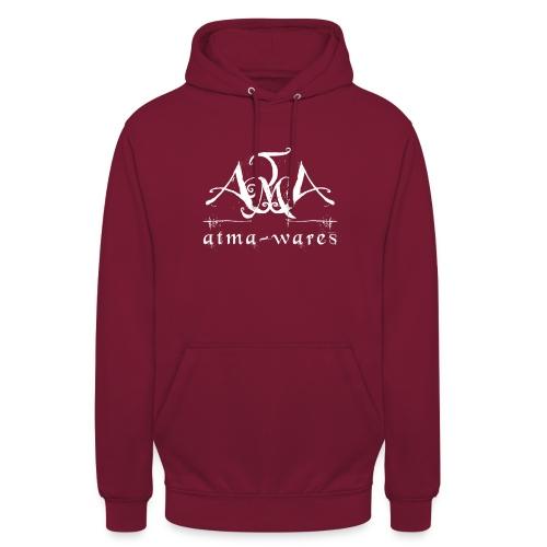 atma wares logo white - Hoodie unisex