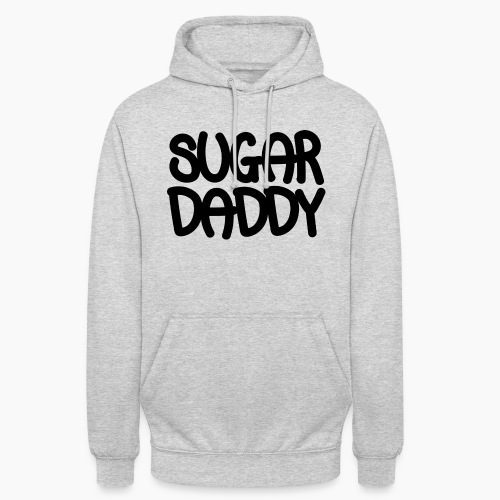 Sugar Daddy Zwart - Hoodie unisex