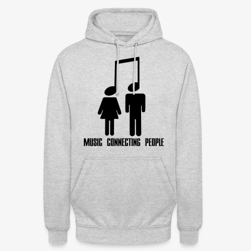 Music Connecting People - Unisex Hoodie