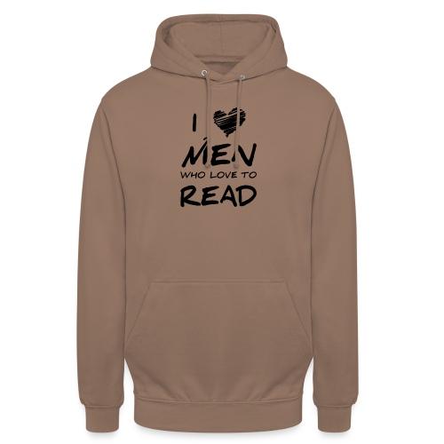 0174 Ich liebe Männer die das Lesen lieben! - Unisex Hoodie