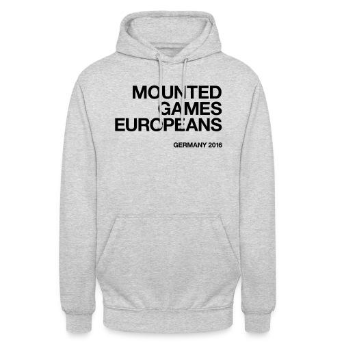 Mounted Games Europeans Hoodie - Unisex Hoodie