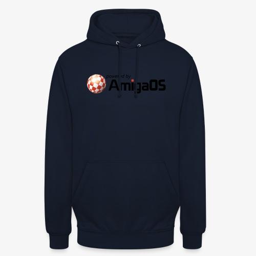 PoweredByAmigaOS Black - Unisex Hoodie