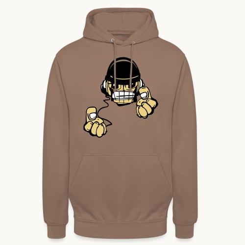 Micky DJ - Sweat-shirt à capuche unisexe