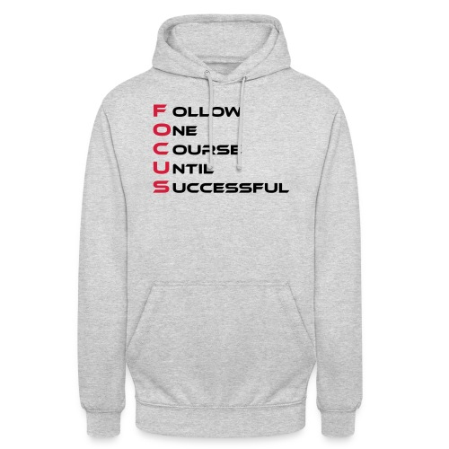Follow one course until Successful - Unisex Hoodie