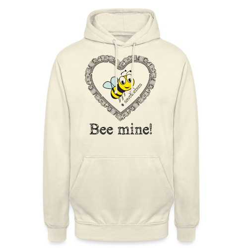 Bees3 - save the bees | bee mine! - Unisex Hoodie