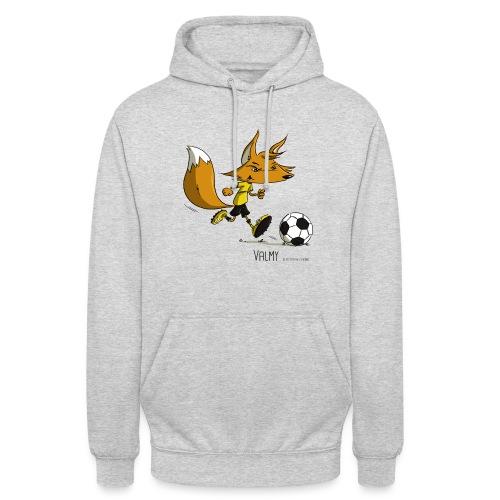 Valmy mascotte - Sweat-shirt à capuche unisexe