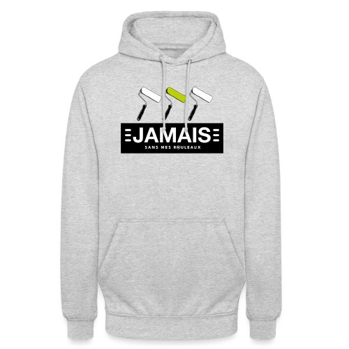 JAMAIS SANS ROULEAUX COSIKA - Sweat-shirt à capuche unisexe