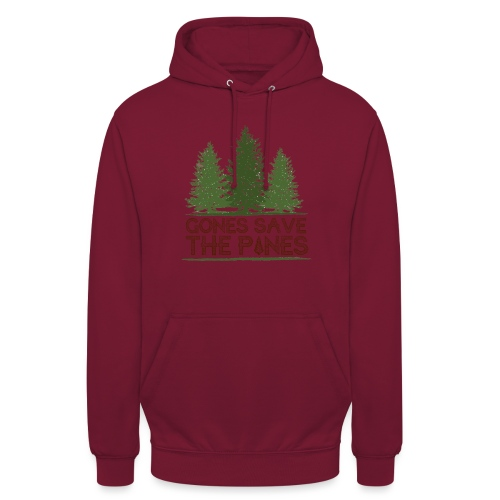 Gones save the pines - Sweat-shirt à capuche unisexe