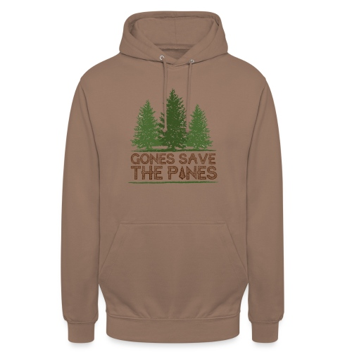 Gones save the pines - Sweat-shirt à capuche unisexe