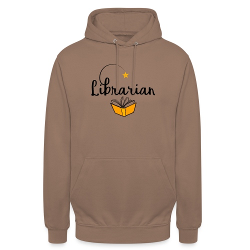 0326 Librarian & Librarian - Unisex Hoodie