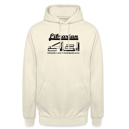 0332 Librarian Cool saying - Unisex Hoodie