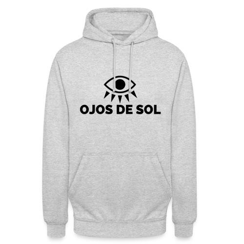 Ojos de Sol - Sudadera con capucha unisex