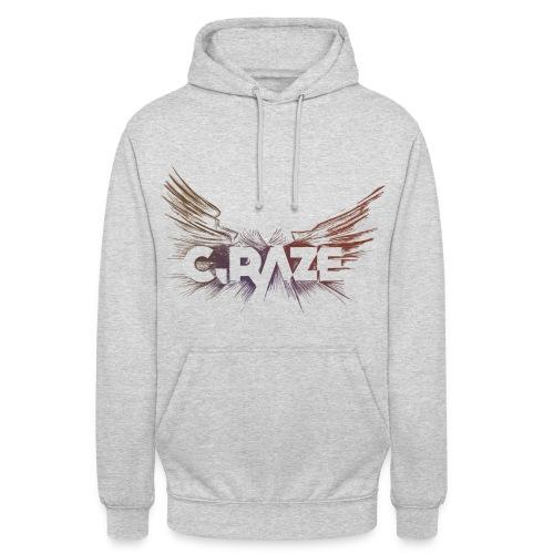 C Raze Shirt white - Unisex Hoodie
