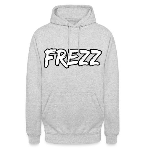 T Shirt FREZZ Noir&Blanc Classique (NOIR) - Sweat-shirt à capuche unisexe