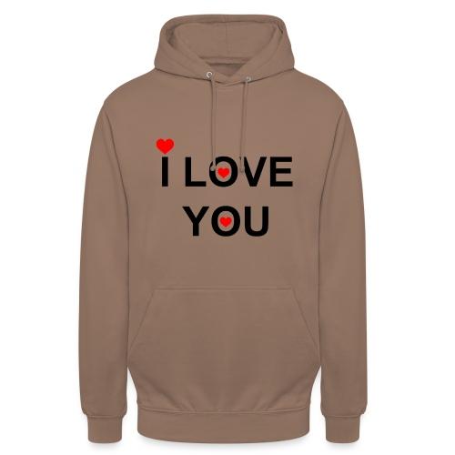 iloveyou - Hoodie unisex