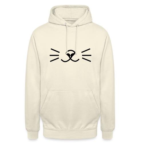 Katzen Gesicht - Unisex Hoodie