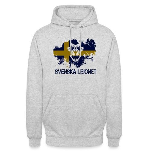 Svenska Lejonet Official Chest Logo - Luvtröja unisex