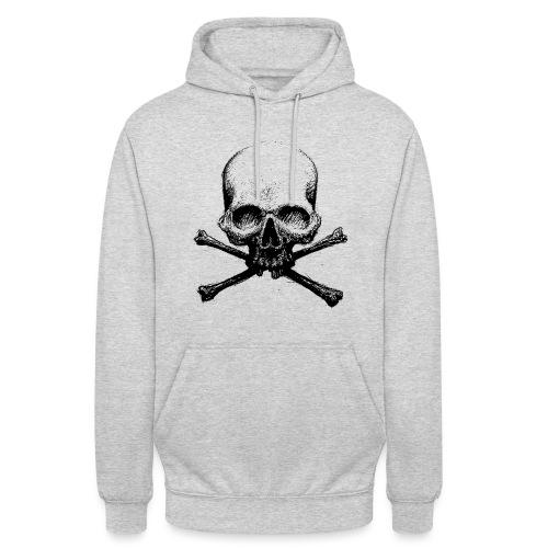 DeadSkull - Felpa con cappuccio unisex