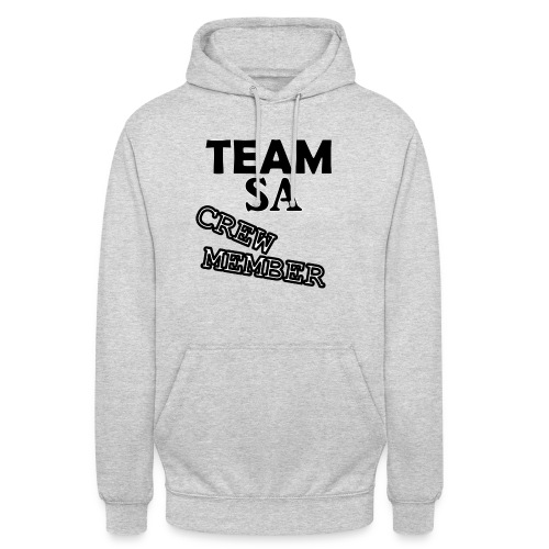 Team SA Crew Member Logo - Luvtröja unisex