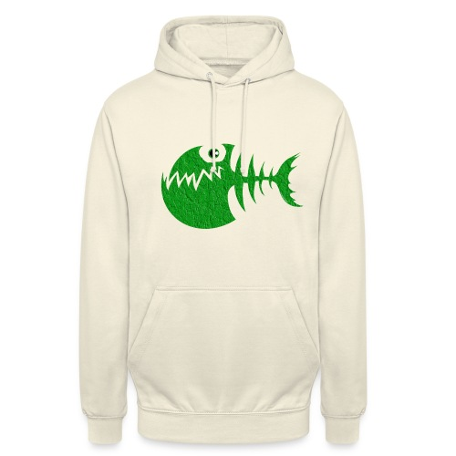 """FISH BONE, Funny Sea Textiles, and Gifts for You - Huppari """"unisex"""""""