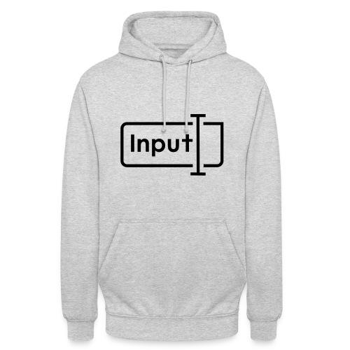 input logo_v2_neu - Unisex Hoodie